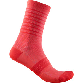 Castelli SuperLeggera 12 Socks Women, brilliant pink